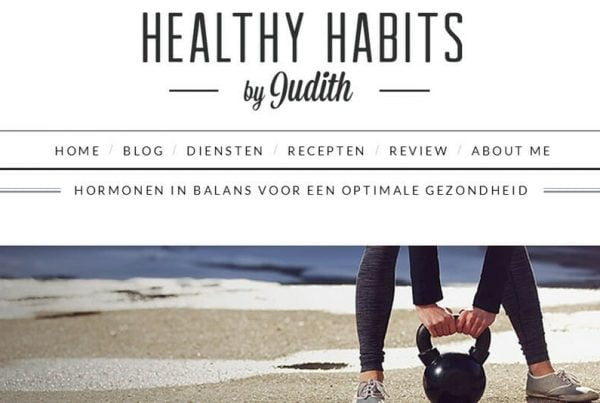 Healthy Habits by Judith