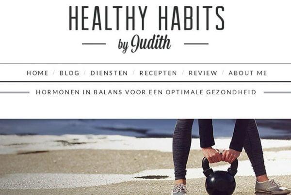 Healthy Habits by Judith Kampman - Studiohoofddorp