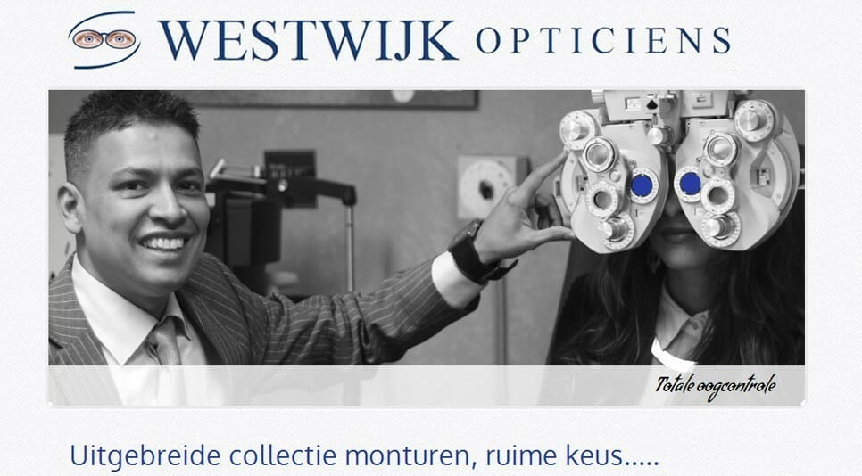 Westwijk Opticiens Amstelveen