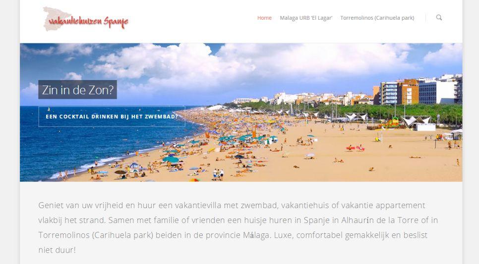 Vakantie huizen huren in Spanje