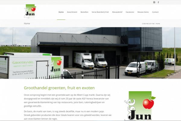 Jun Groeten & Fruit Groothandel groenten, fruit en exoten