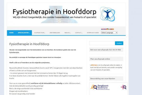 Fysiotherapie Fysio in Hoofddorp