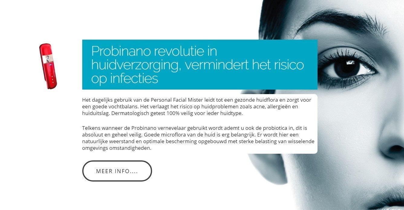 Probinano revolutie in huidverzorging