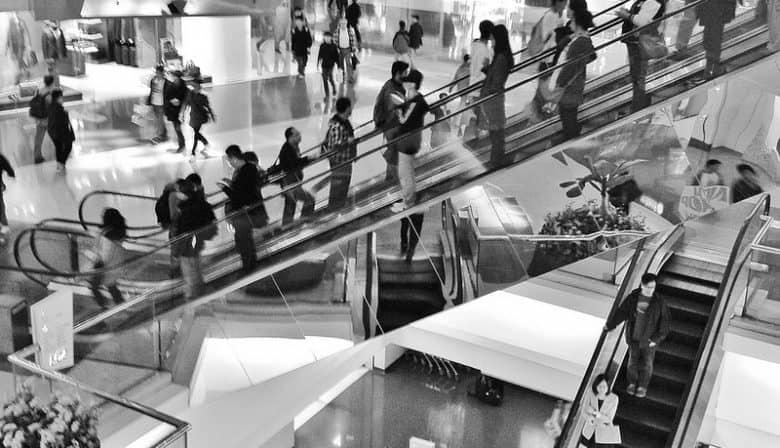 fysieke winkels