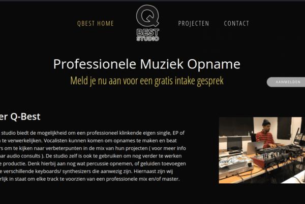 Professionele Muziek Opname QBest