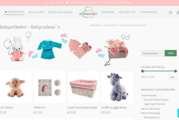 Bornbasket Kraammanden & Baby Cadeau's