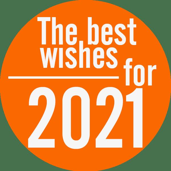 Beste wensen 2021 namens Studiohoofddorp